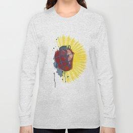 My Heart goes boom Long Sleeve T-shirt