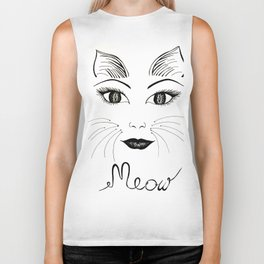 What part of MEOW don't you understand? Biker Tank