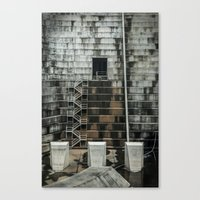 industrial Canvas Prints featuring Industrial  by Novella Photography