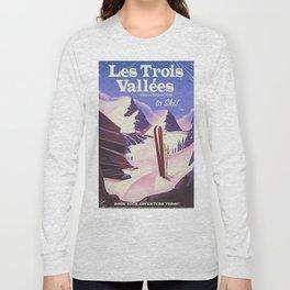 Les Trois Vallées to ski Long Sleeve T-shirt