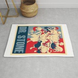Dr Stone Anime Poster Rug