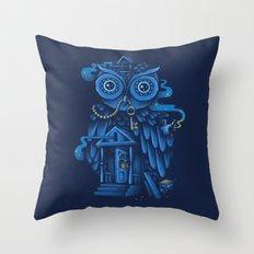 Guardian of the Night Throw Pillow