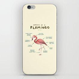 Anatomy of a Flamingo iPhone Skin