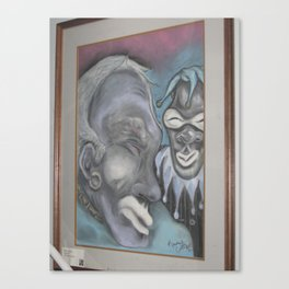 Dave the Jester Canvas Print