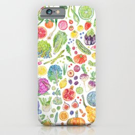 Seasonal Harvests iPhone Case