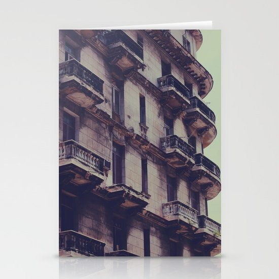 missing balcony Stationery Cards