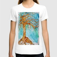 tree of life T-shirts featuring Tree of Life by Aries Art