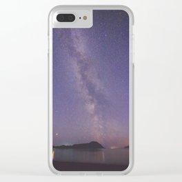 Milky Way - Kodiak, AK Clear iPhone Case
