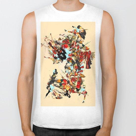 non-headed trogon Biker Tank