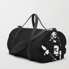 Portrait Of Adreas Kisser The Metal Rock Musician Duffle Bag