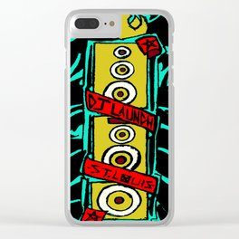 Bass Tribe Clear iPhone Case