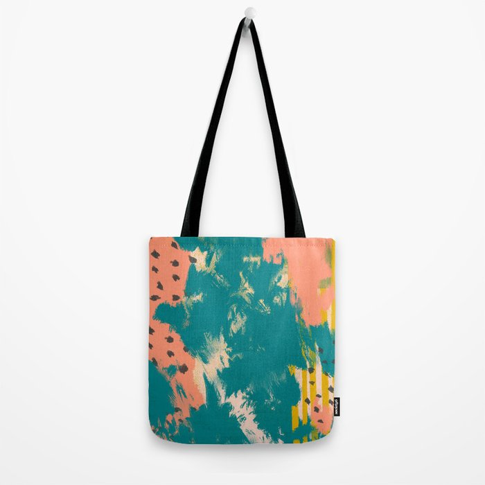 peachy summer Tote Bag