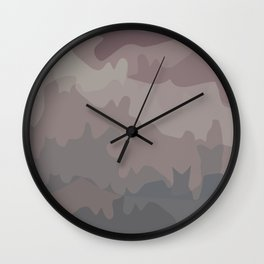 Horizon Camo Wall Clock