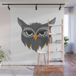 Be Wise like an Owl Wall Mural