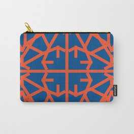 Diamond Bug - Flame and Lapis Blue Carry-All Pouch