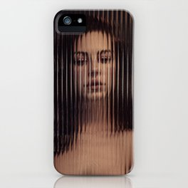 Distortion of beauty iPhone Case