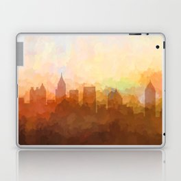 Atlanta, Georgia Skyline - In the Clouds Laptop & iPad Skin