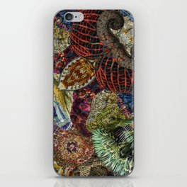 Psychedelic Botanical 7 iPhone Skin