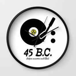 45 B.C. Wall Clock