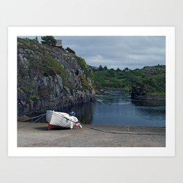 At Bunbeg Art Print