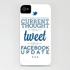 Social Media iPhone (4, 4s) Slim Case