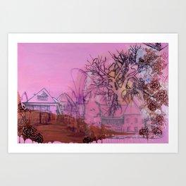 Everette Mansion Art Print