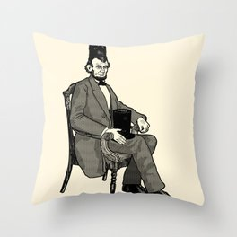 Hat Head Throw Pillow