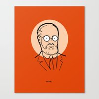 matisse Canvas Prints featuring Henri Matisse by Michael Constantine