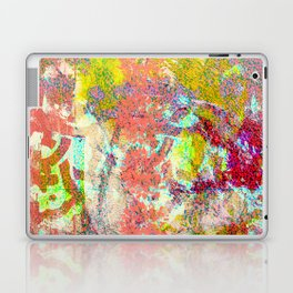 Living Coral abstract Laptop & iPad Skin