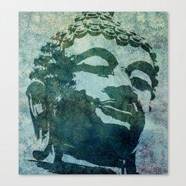 Tinted Texture Buddha I Canvas Print