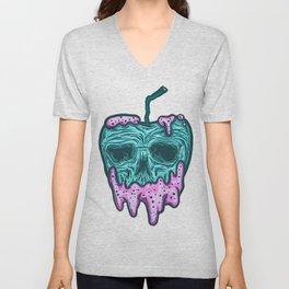 poison apple...skull voodoo Unisex V-Neck