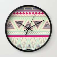 aztec Wall Clocks featuring Aztec by ALT + CO
