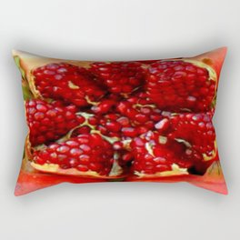 Pomegranate in Ephesus, Turkey Rectangular Pillow