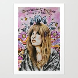 Stevie Nicks Poster Print  Wall Art Art Print