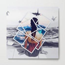 Holiday Polaroids by GEN Z Metal Print