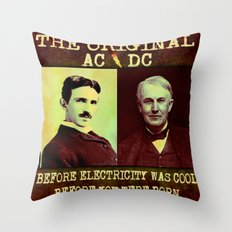 AC/DC - 064 Throw Pillow