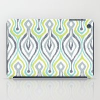 ikat iPad Cases featuring Sketchy IKAT by Patty Sloniger