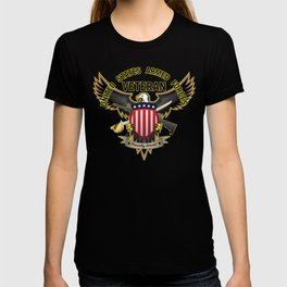 United States Armed Forces Military Veteran - Proudly Served T-shirt