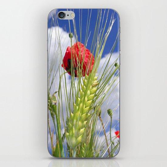 cornfield poppy I iPhone & iPod Skin