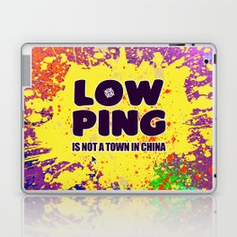Low-Ping Laptop & iPad Skin