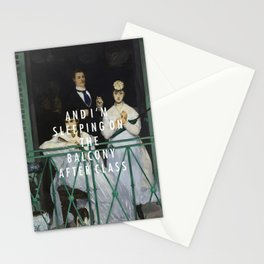 Balcony After Class Stationery Cards