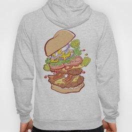 Hamburger Time Hoody