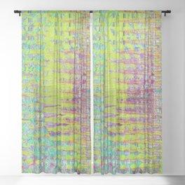 Zip Tie Sheer Curtain