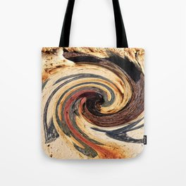 Swirl 07 - Colors of Rust / RostArt Tote Bag