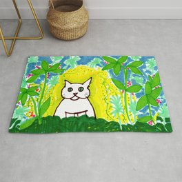 Wild Jungle Cat Rug