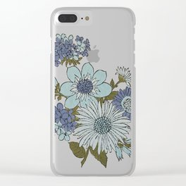 Dorchester Flower 2 Clear iPhone Case