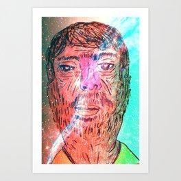I'm at space Art Print