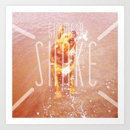 gimme a shake!! Art Print