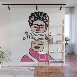Woman Power - Frida Kahlo Wall Mural