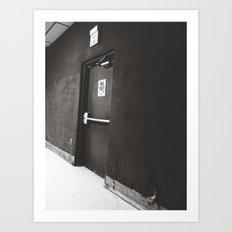 Exit/No Exit Art Print